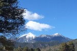 The San Francisco Peaks in Snow